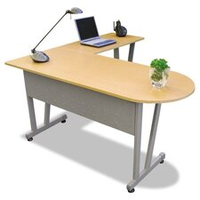 Linea Italia Massima Line L-Shaped Desk