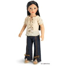 "Fun Chic Outfit for 18"" Slim Dolls"