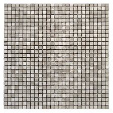 "Haisa Marble 12"" x 12"" Micro Mosaic in Haisa Light"
