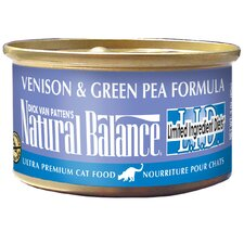 Limited Ingredient Diet Venison and Green Pea Canned Cat Food