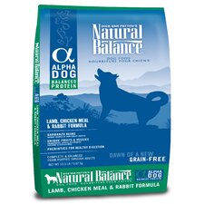 Alpha Grain Free Lamb, Chicken and Rabbit Dry Dog Food