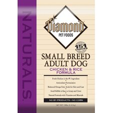 Natural Small Breed Chicken and Rice Dry Dog Food