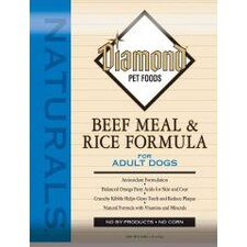 Natural Beef Meal & Rice Formula Adult Dry Dog Food (40-lb bag)