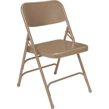 300 Series Triple Brace Steel Folding Chair
