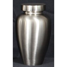 Spartan Urn in Brushed Nickel