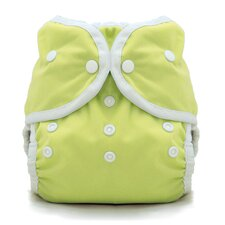 Duo Wrap Snap Diaper in Honeydew