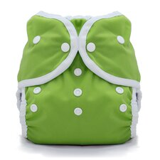 Duo Wrap Snap Diaper in Meadow