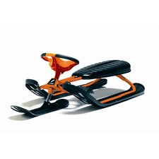 Curve Force Snow Sled in Orange