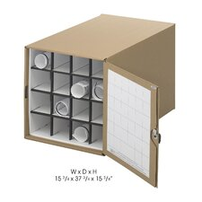 Stackable Roll File Storage Box, 16-3/4 X 38-3/4 X 16-3/4