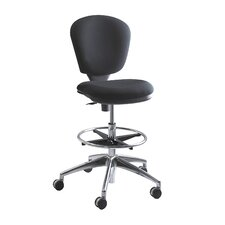 Height Adjustable Drafting Chair with Swivel