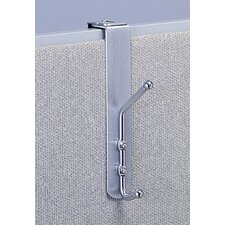 Over-the-Panel Double Coat Hook