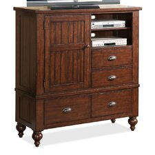 Castlewood 4 Drawer Media Chest
