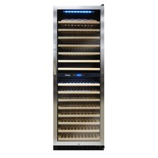 155 Bottle Dual Zone Wine Cooler
