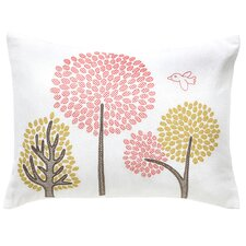 Treetops Boudoir Pillow in Petal