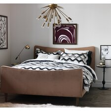 Painted Chevron Duvet Set
