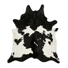 Cowhide in Black/White
