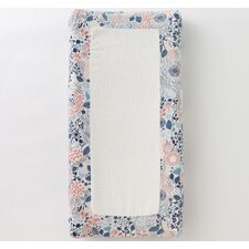 Meadow Powder Blue Changing Pad Cover