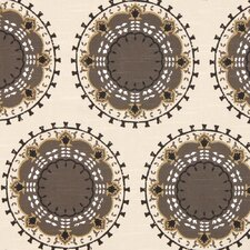 Medallion Band Fabric - Toffee