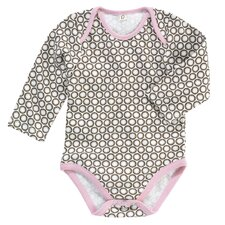 Starburst Chocolate L/S Bodysuit 0-3 Mo.