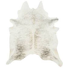 Cowhide in Light Grey
