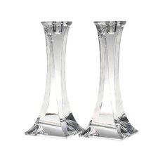 2 Piece Obelisk Candle Holder Set