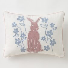Meadow Powder Blue Boudoir Pillow