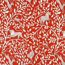 Pantheon Fabric - Persimmon