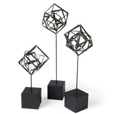 Tilted Cube Sculpture