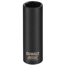 "0.38"" Drive 6-Point 0.75"" Deep Socket"
