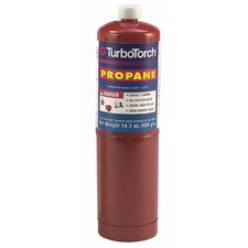 TurboTorch  PT-1 Propane Replacement Cylinder, 14.1 Ounce With CGA 600 Connection