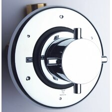 Diverter Valve with Chrome Shower Faucet Trim