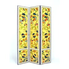 Yanlan 3 Panel Distressed Room Divider