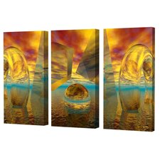 Sunset Triptych Limited Edition Canvas Scott J. Menaul (Set of 3)