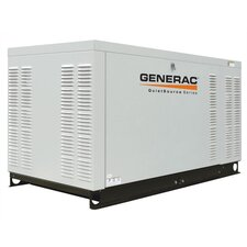 22 Kw Liquid-Cooled Single Phase 120/240 V Standby Generator in Aluminum