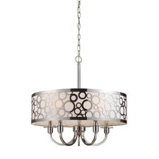 Retrovia  5 Light Chandelier
