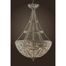 Elizabethan 4 Light Inverted Pendant