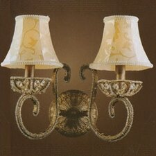 Elizabethan 2 Light Wall Sconce