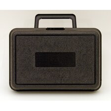 Blow Molded Case in Black: 6.5 x 9.5 x 3.5