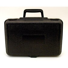 Blow Molded Case in Black: 9 x 13.5 x 4.38