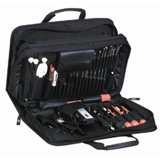 Combo Tool and Attache / Notebook in Black: 13.25 x 18.13 x 6.25