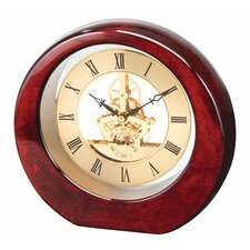 """DaVinci"" See Thru Clock"