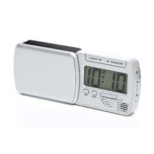 """Smart Lite"" Swing Out Travel Alarm Clock"