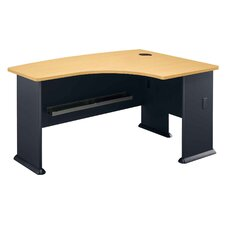 Series A: Right L-Bow Desk