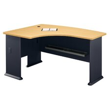 Series A: Left L-Bow Desk
