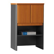 "Series A: 36.5"" H x 24"" W Storage Hutch"