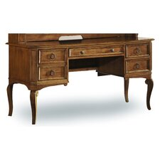 Windward Credenza Desk with Keyboard Tray