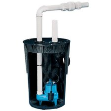 80 GPM Simplex Package with Roll-Top Molded Polyethylene Basin