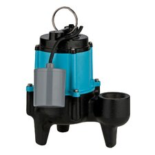 1/2 HP 10SN-CIA-RF Manual Sewage Pump with 20' Power cord