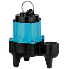 1/2 HP 10SN-CIM Manual Sewage Pump