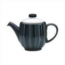Jet Stripes 2.25 Pint Large Teapot